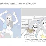"""Llegar de fiesta y """"violar"""" la nevera"""